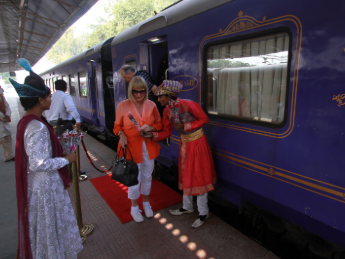 Palace on Wheels, Grands Trains du Monde
