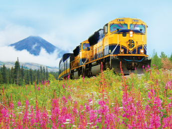 Alaskan Railroad, Grands Trains du Monde
