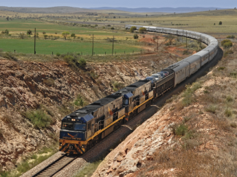 The Ghan  & The Indian Pacific, Grands trains du Monde
