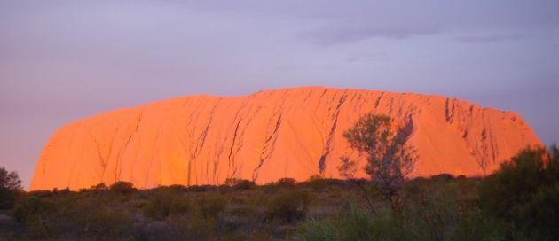 Ayers Rock, circuit Hémisphère Austral, Tour du Monde