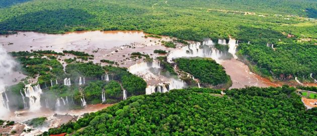 Iguazu, circuit Hémisphère Austral, Tour du Monde