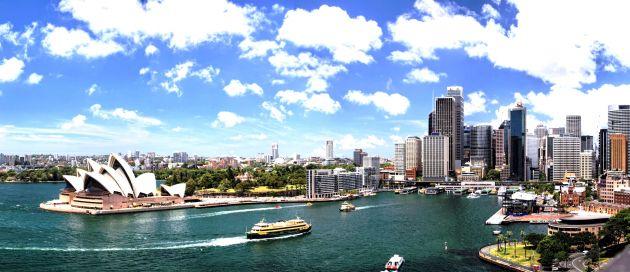 Sydney, Hémisphère Austral, Tours du Monde