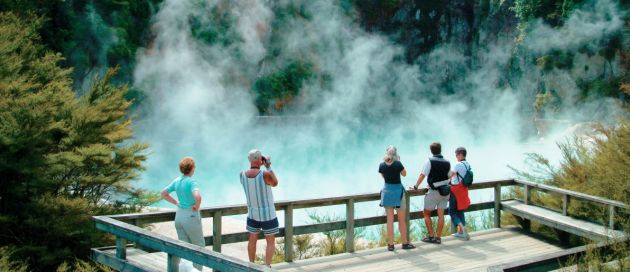 Rotorua, circuit Tour du Monde Essentiel