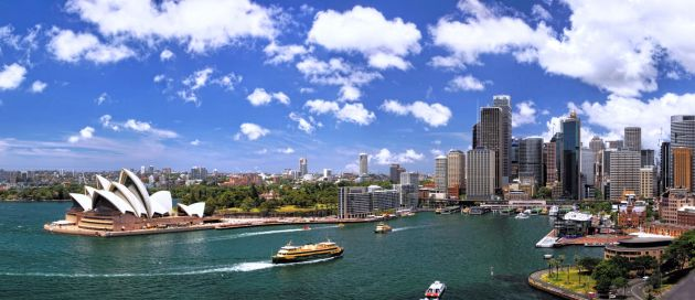 Sydney, Tours du Monde Approche des Continents