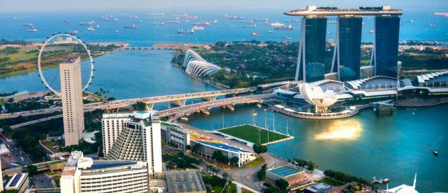 Singapour, Tours du Monde Approche des Continents
