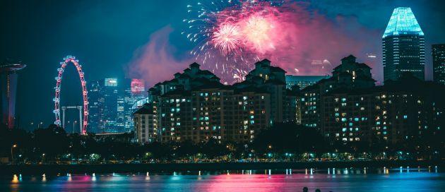Singapour, Tour du Monde Approche des Continents