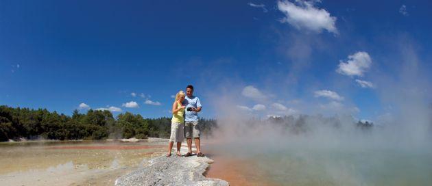 Rotorua, circuit Tour du Monde des Sites Naturels