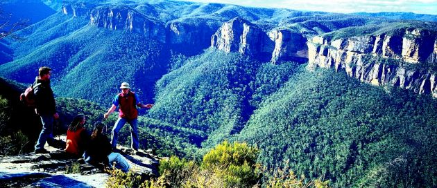 Blue Mountains,Tour du Monde Merveilles du Monde