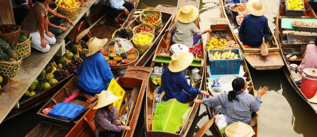 Bangkok, du Pacifique à la Mer d'Andaman