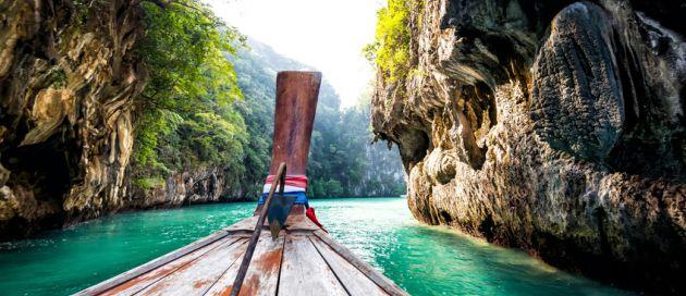 Phuket, circuit du Pacifique à la Mer d'Andaman
