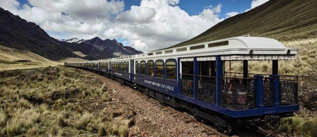 Andean Explorer, Tours du Monde