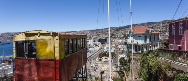 Valparaiso, Tour du Monde