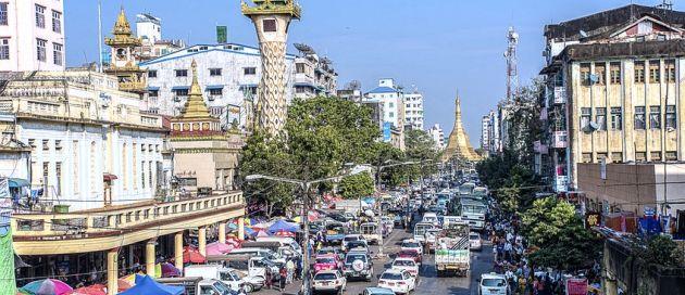 Yangon, Birmanie, Tours du Monde