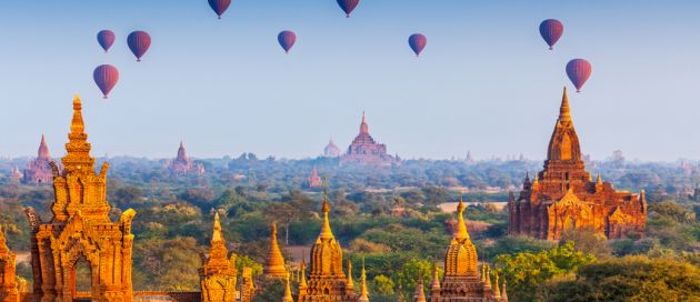 Bagan, Birmanie, Tours du Monde