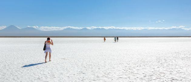 Salar d'Atacama, Chili, Tours du Monde
