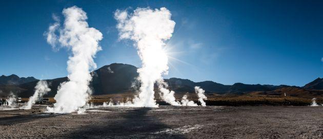 Atacama, geysers del Tatio, Chili, Tours du Monde