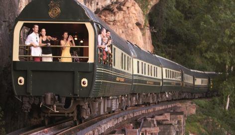 Eastern and Oriental, Grands trains du Monde