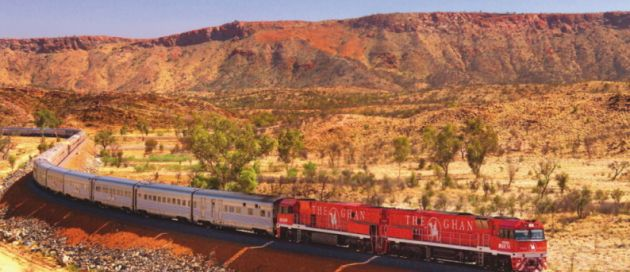 The Ghan, Grands Trains du Monde, Australie