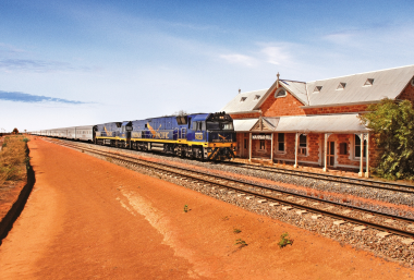 Indian Pacific, Grands Trains du Monde, Australie