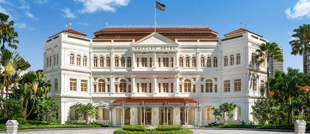 Raffles Singapore, Connaisseurs du Voyage, Tour du