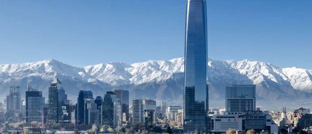 Santiago, Chili, Tour du monde en Jet Privé