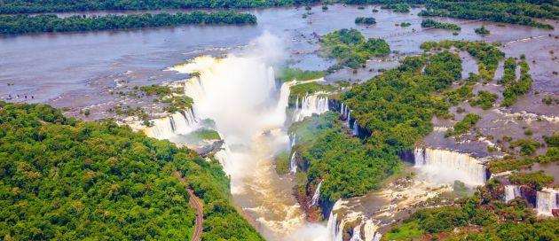 Iguazu,  Circuit en français découverte du Brésil