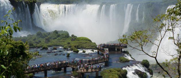 Iguazu, circuit en français, Découverte du Brésil