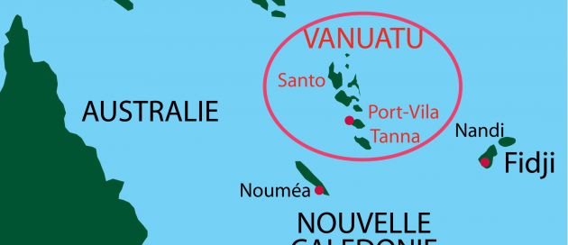Circuit guidé en français au Vanuatu