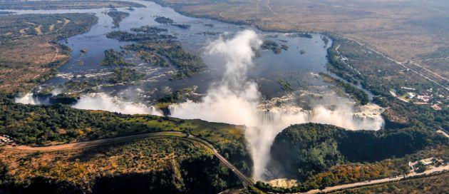 Croisière aérienne en Afrique Australe